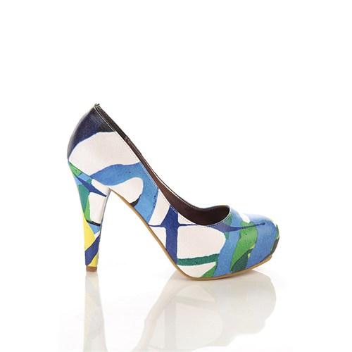 Los Ojo Brc 023 Kadın Topuklu Ayakkabı