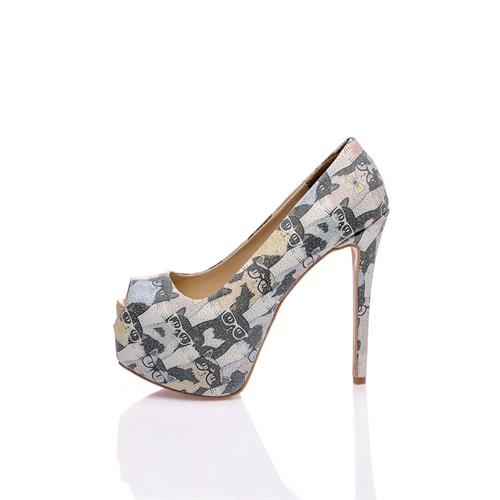 Los Ojo Cats Topuklu Ayakkabı