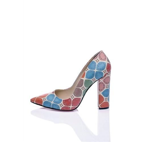 Los Ojo Coloria Topuklu Ayakkabı