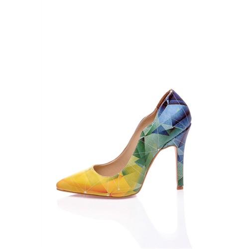 Los Ojo Cubbic Topuklu Ayakkabı