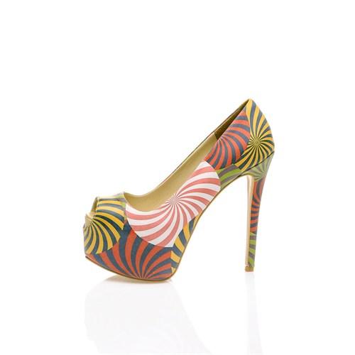 Los Ojo Lollipop Topuklu Ayakkabı