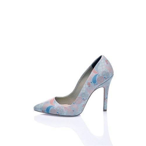 Los Ojo Somon Topuklu Ayakkabı