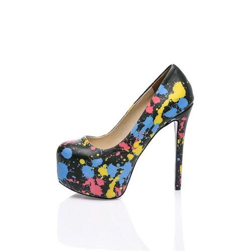 Los Ojo Splash Topuklu Ayakkabı