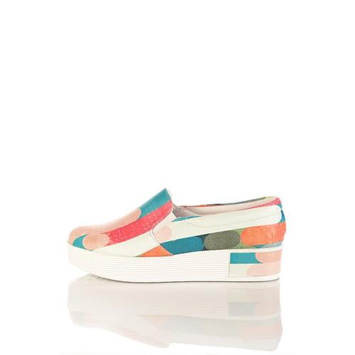 Los Ojo Tkn 001 Yüksek Sneaker Kadın Ayakkabı