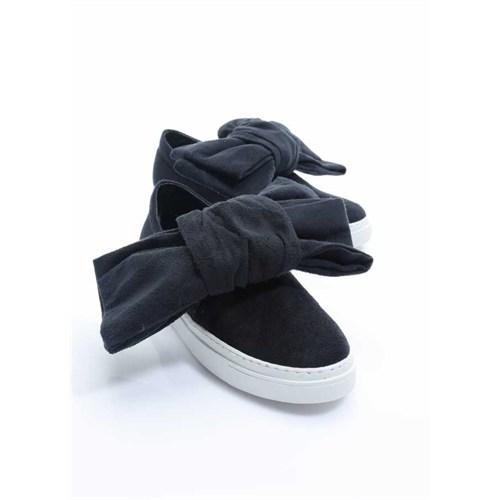 Shoes&Moda Siyah Süet Kadın Ayakkabı 509-1016-1510071