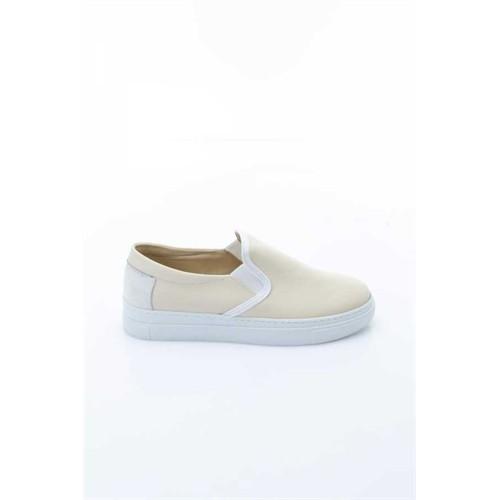 Shoes&Moda Krem Kadın Ayakkabı 509-1016-1509018