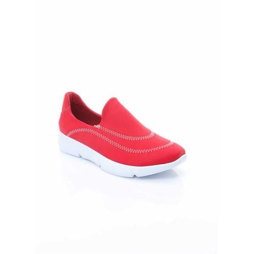 Shoes&Moda Kırmızı Kadın Ayakkabı 509-1016-1500016
