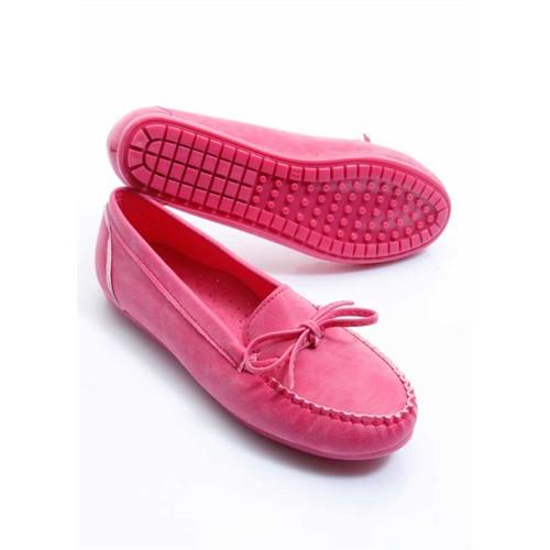 Shoes&Moda Fuşya Kadın Babet 509-1016-1000013