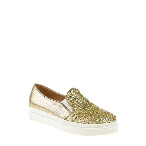 Derigo Kadın Casual Ayakkabı Altın