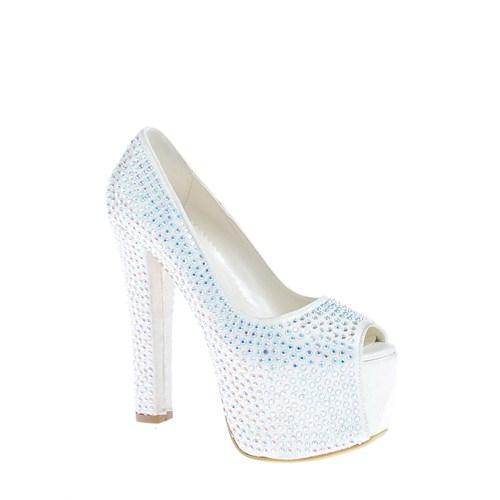 Derigo Kadın Topuklu Ayakkabı Sedef