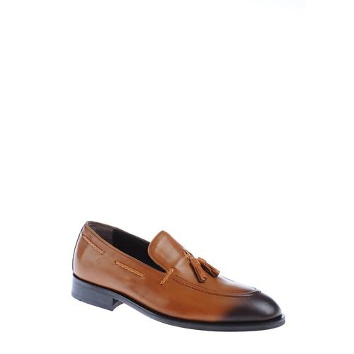 Derigo Erkek Klasik Ayakkabı Taba