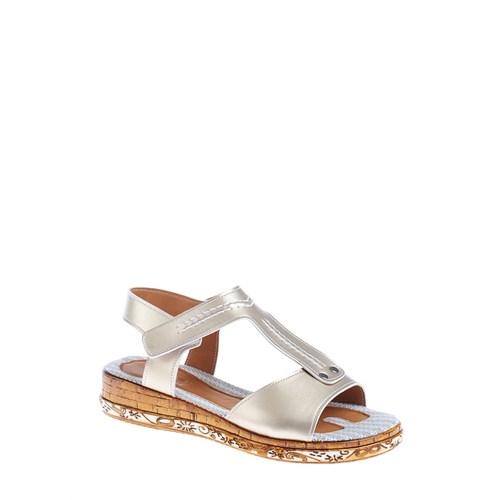 Derigo Kadın Sandalet Altın