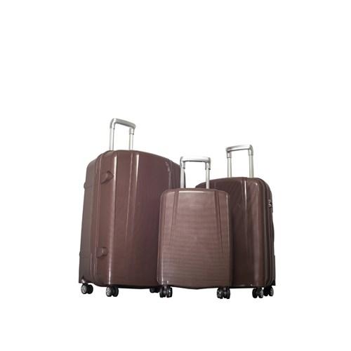 Ççs Valiz Kahverengi ÇÇS5108-SET KAHVE
