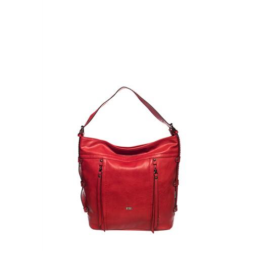 Ççs Omuz Çantası Kırmızı 14901