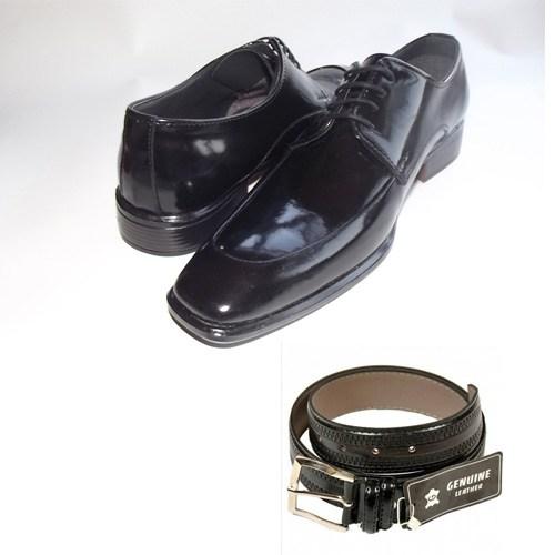 Klasik Erkek Kundura Ayakkabı + Kemer