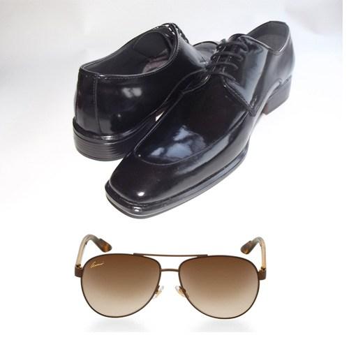 Klasik Erkek Kundura Ayakkabı + Güneş Gözlüğü