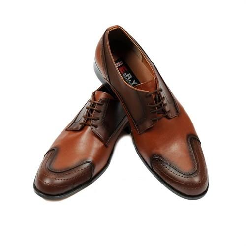Taba Renkli Erkek Ayakkabısı + Kemer + Gözlük + Cüzdan + Saat