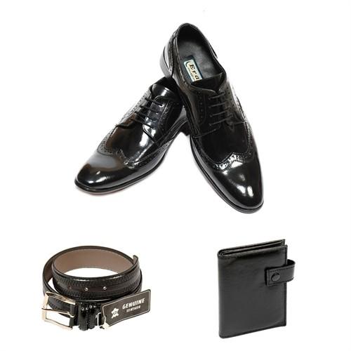 Eray Erkek Ayakkabısı Cüzdan Ve Kemer