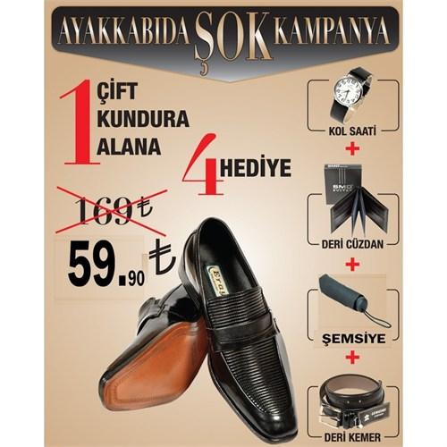 Eray Erkek Ayakkabısı Kol Saati Cüzdan Şemsiye Kemer