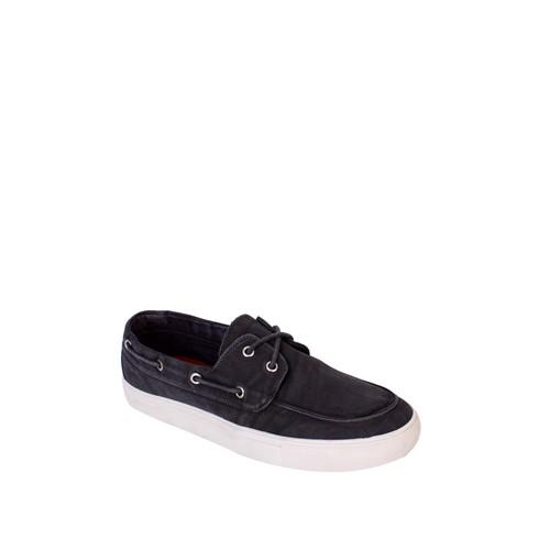 Dosteli Ayakkabı Antrasit Nbn Erkek Keten Ayakkabı - 140