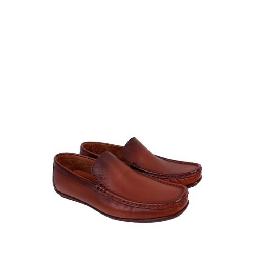 Sezer Kundura Ayakkabı Taba Klasik Erkek Ayakkabı - 104
