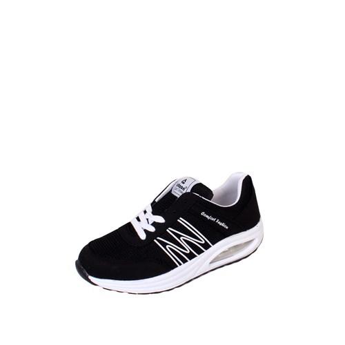 Letoon Siyah - Beyaz Zenne Spor Ayakkabı - 2210
