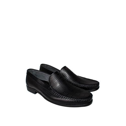 Erkan Kundura Siyah Klasik Erkek Ayakkabı - 7000
