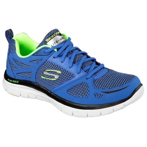 Skechers Erkek Spor Ayakkabı 51460-Blbk