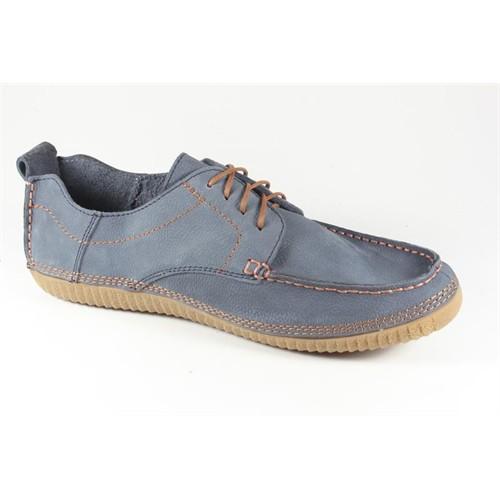 Commodore 218-22-051-29 Mavi Nubuk Erkek Ayakkabı