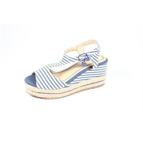 Pink Step Gala Mavi Beyaz Kız Çocuk Ayakkabı