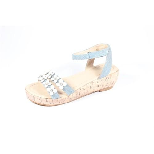 Pink Step Janet Mavi Kız Çocuk Ayakkabı