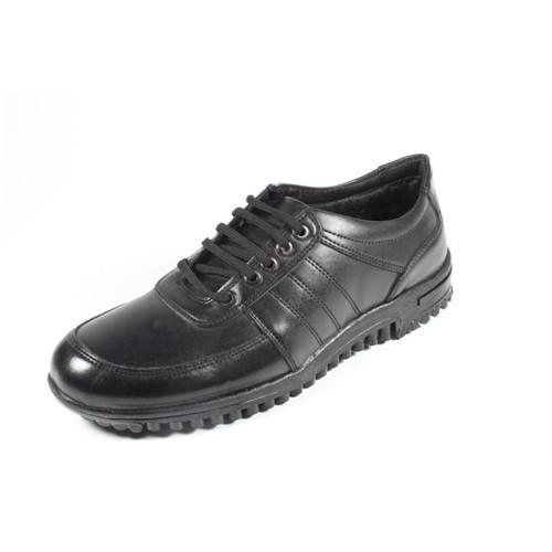 New Vision 257-Bh-118 Siyah Erkek Ayakkabı