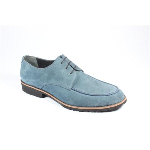 Pablo 215-9919 Petrol Mavi Erkek Ayakkabı