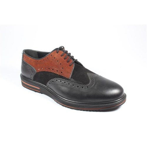 Pablo 213-505 Siyah Tarçın Erkek Ayakkabı