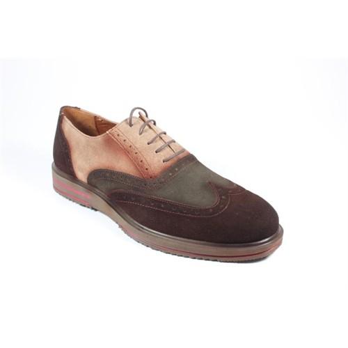 Pablo 213-505 Kahverengi Yeşil Erkek Ayakkabı