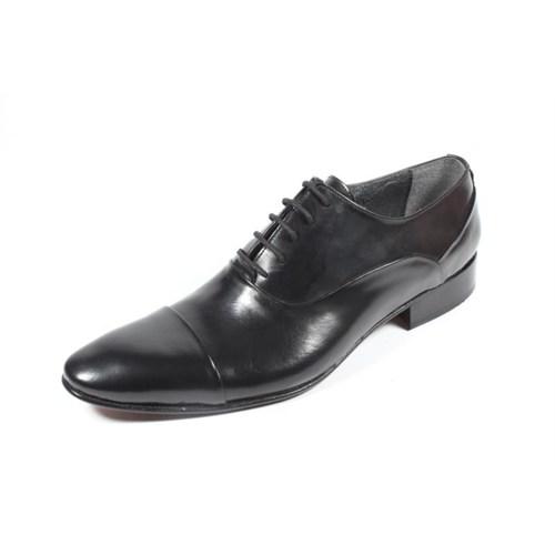 Pablo 214-1388 Siyah Kösele Ayakkabı