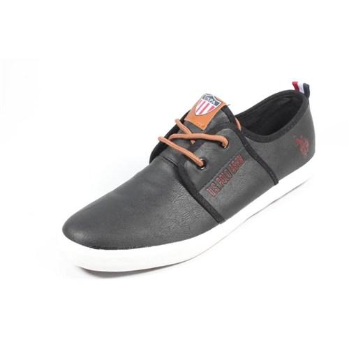 U.S. Polo 275222 Atlanta Siyah Erkek Ayakkabı