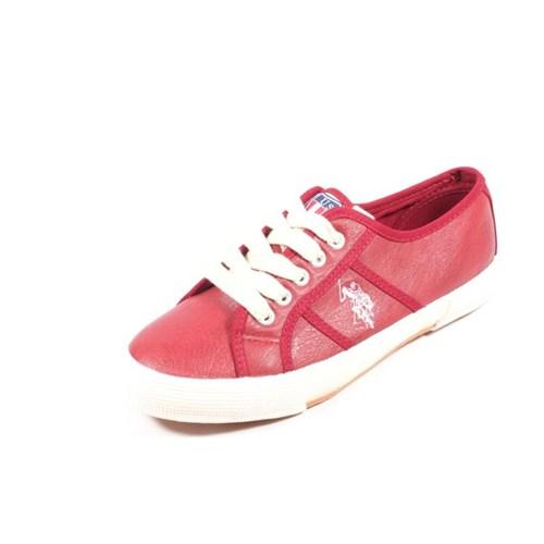 U.S. Polo 275161 La Paz Kırmızı Erkek Ayakkabı
