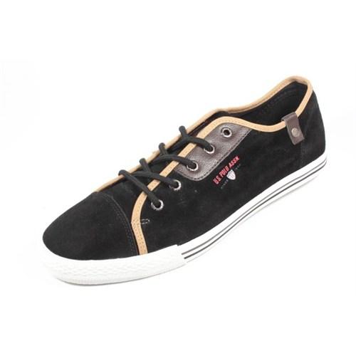 U.S. Polo Borda Siyah Erkek Ayakkabı