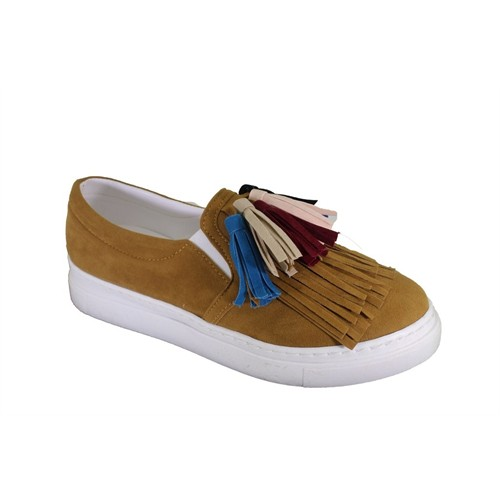 Oflaz Y-1900 Kadın Günlük Püsküllü Ayakkabı