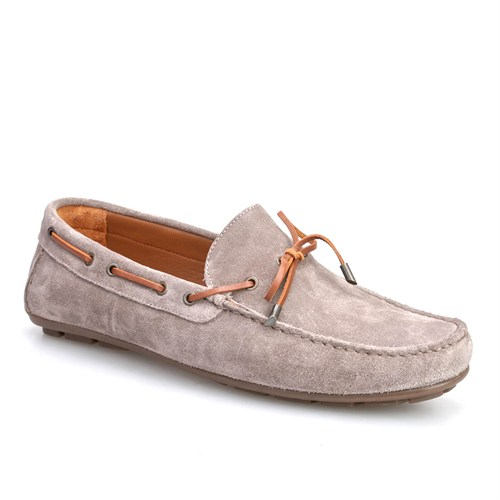 Cabani Makosen Günlük Erkek Ayakkabı Vizon Süet