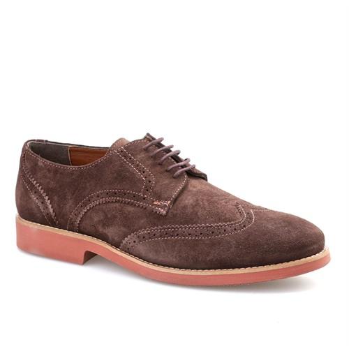 Cabani Hafif Taban Günlük Erkek Ayakkabı Kahverengi Süet