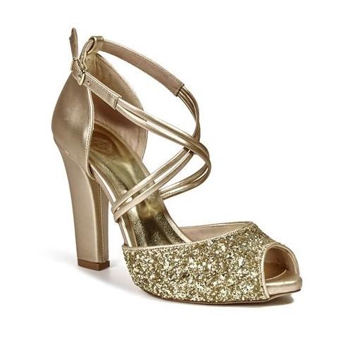 Desa Kadın Abiye Ayakkabı Altın 5905