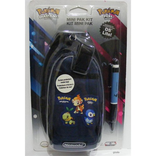 Nintendo Pokemon New 3Ds Orijinal Çanta Pokemon Lacivert