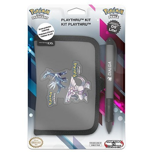 Nintendo Pokemon Kılıf Cüzdan Pocket Kit Ds Lite Gri