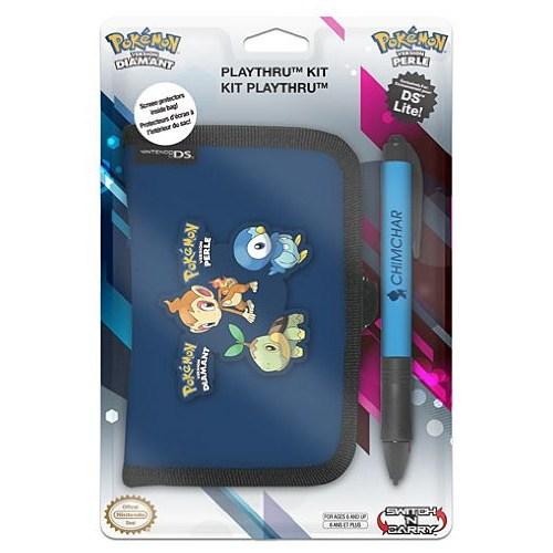 Nintendo Pokemon Kılıf Cüzdan Pocket Kit Ds Lite Lacivert
