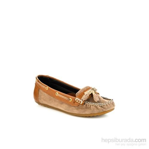 Bambi Kadın Ayakkabı Vizon