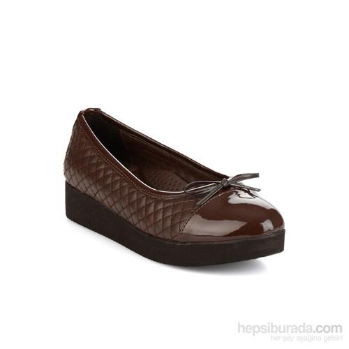 Bambi Kadın Topuklu Ayakkabı Kahverengi
