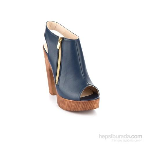 Bambi Kadın Sandalet Lacivert