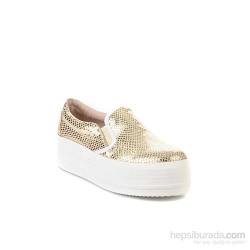Bambi Kadın Sneakers Dore